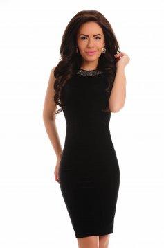 Delicate Modernity Black Dress
