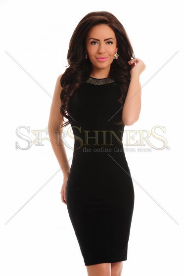 Delicate Modernity Black Dress