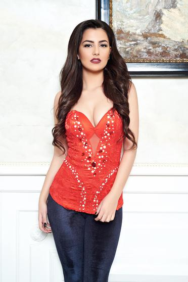 Mexton Romantic Grace Red Corset