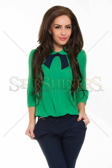 LaDonna Juicy View Green Blouse