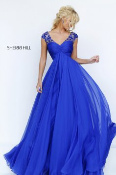 Sherri Hill 50045 Blue Dress