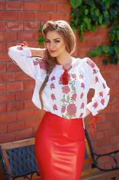 Outstanding White Blouse
