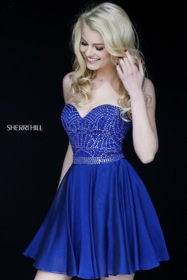 Sherri Hill 1978 Blue Dress
