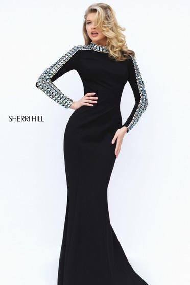Sherri Hill 50611 Black Dress