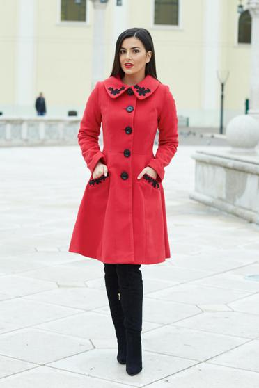 LaDonna Splendid Style Red Coat