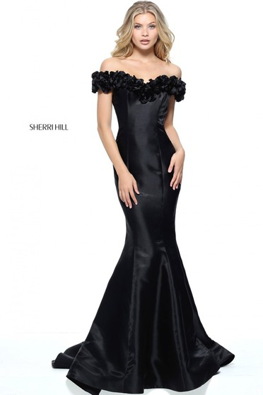 Sherri Hill 51103 Black Dress
