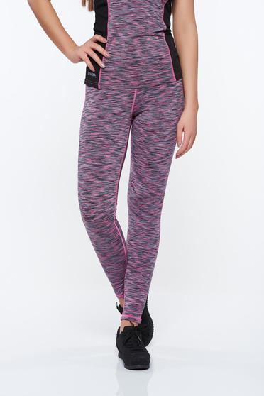 Top Secret pink tights sporty high waisted from elastic fabric