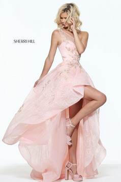 Sherri Hill 50968 LightPink Dress