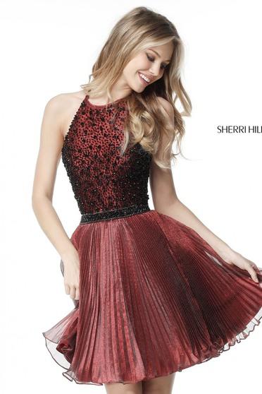 Sherri Hill 51303 Brown Dress