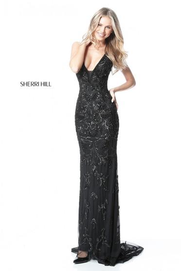 Sherri Hill 51473 Black Dress