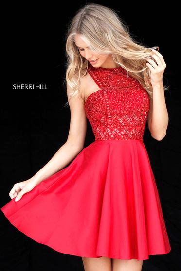 Sherri Hill 51302 Red Dress