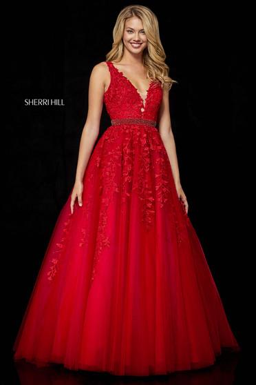 Sherri Hill 11335 Red Dress