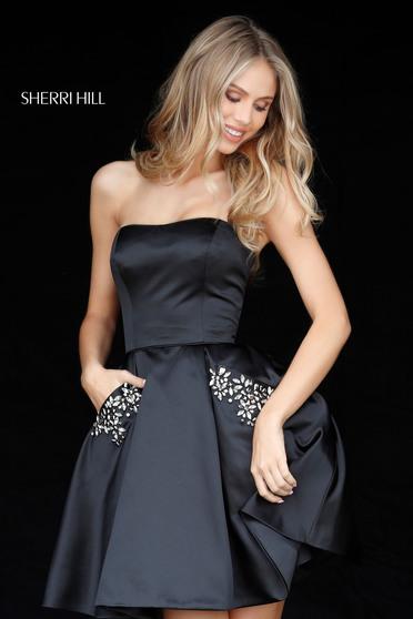 Sherri Hill 51390 Black Dress