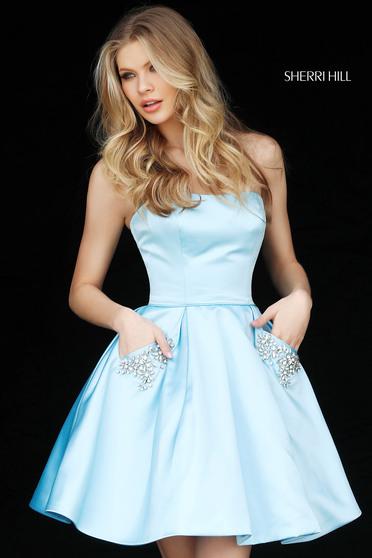Sherri Hill 51390 LightBlue Dress
