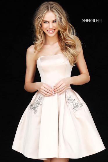 Sherri Hill 51390 Nude Dress
