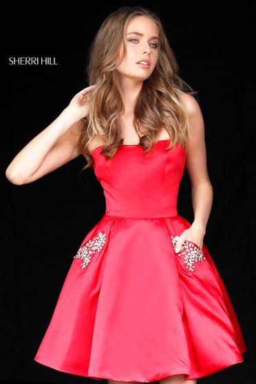 Sherri Hill 51390 Red Dress