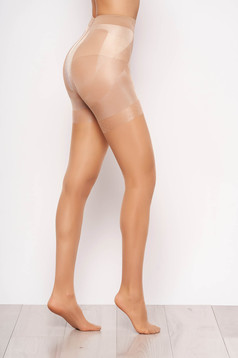 Modeller 20 den nude women`s tights with runstop