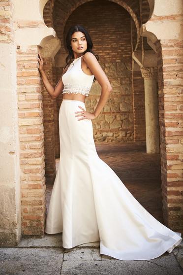 Sherri Hill 51581 White Dress