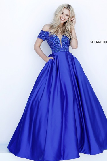 Sherri Hill 51611 Black Dress