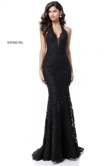 Sherri Hill 51616 Black Dress
