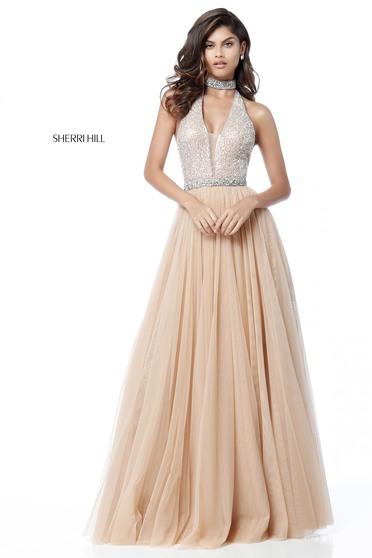 Sherri Hill 51637 Nude Dress
