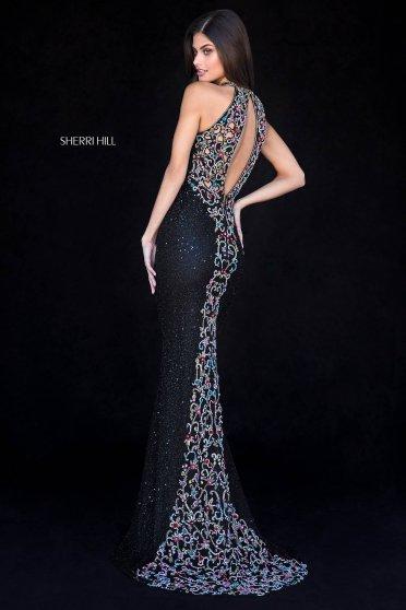 Sherri Hill 51739 Black Dress