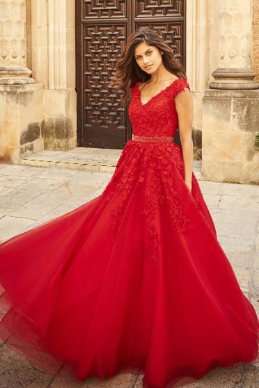 Sherri Hill 51905 Red Dress