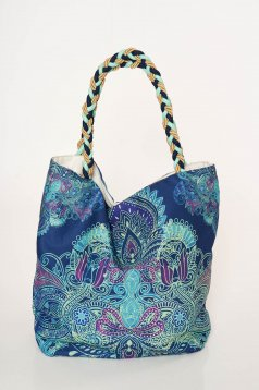 Cosita Linda blue bag beach wear medium handles