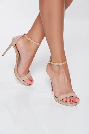 With thin straps