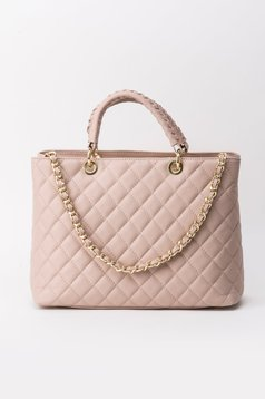 Rosa office bag natural leather