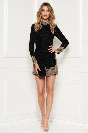 Sherri Hill 52113 Black Dress