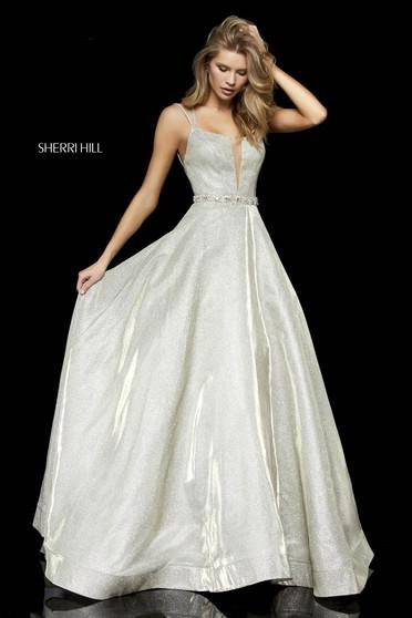 Sherri Hill 52124 Gold Dress