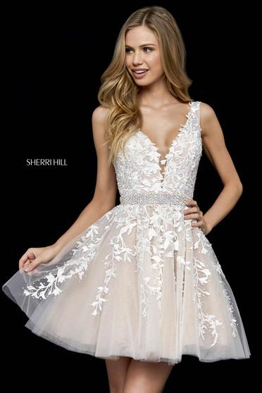 Sherri Hill 52157 Black Dress