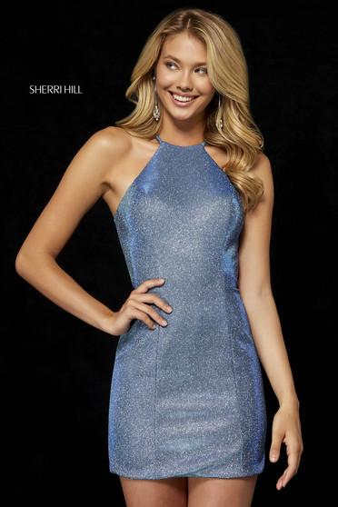Sherri Hill dress aqua luxurious