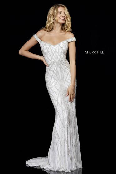 c9762019364 Sherri Hill 52323 White Dress