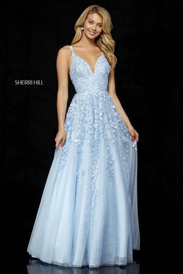 Sherri Hill 52342 LightBlue Dress