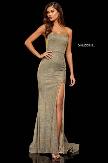 Sherri Hill 52362 Nude Dress