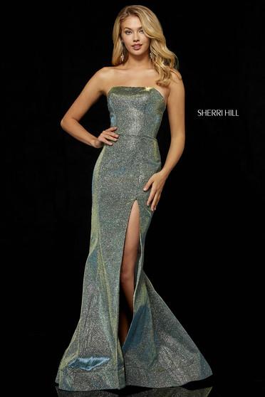 Sherri Hill 52362 Green Dress