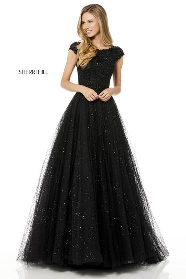 Sherri Hill 52365 Black Dress