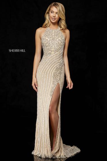 Sherri Hill 52368 Nude Dress