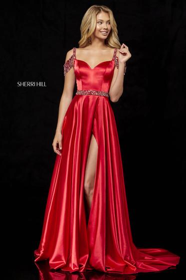 Sherri Hill 52388 Red Dress