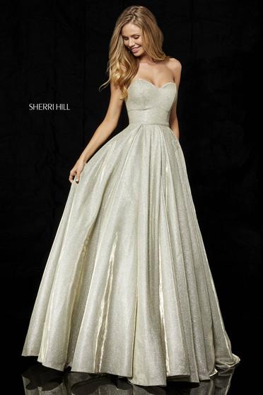Sherri Hill 52391 Gold Dress