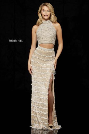 Sherri Hill 52399 Nude Dress