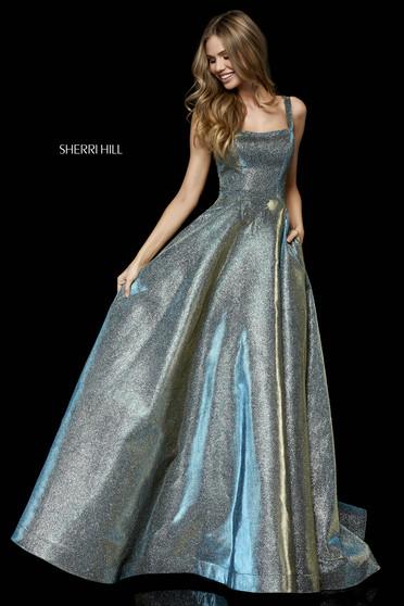 Sherri Hill 52138 Green Dress