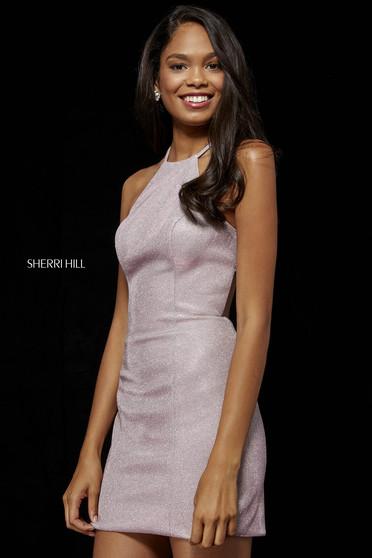 Sherri Hill dress lightpink luxurious