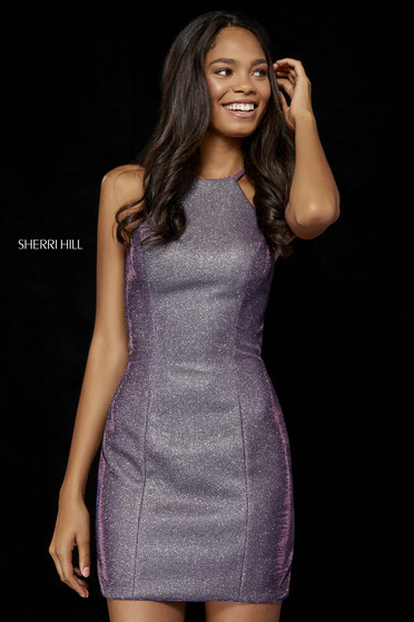Sherri Hill dress purple luxurious