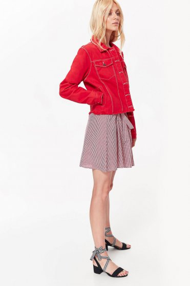 Top Secret S042470 Red Jacket
