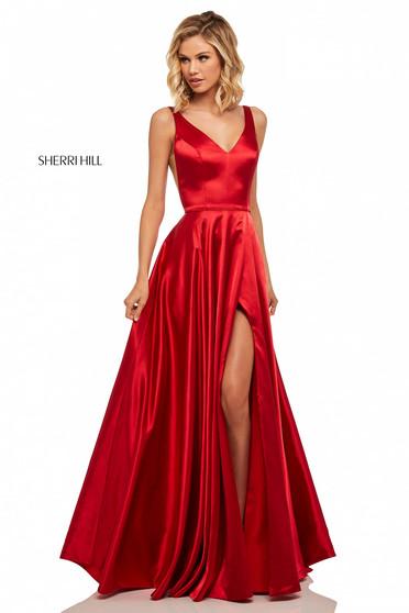 Sherri Hill 52410 Coral Dress