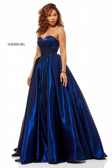 Sherri Hill 52456 DarkBlue Dress
