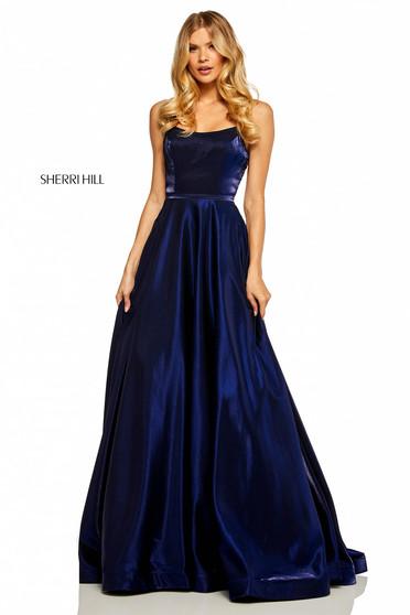 Sherri Hill 52457 DarkBlue Dress